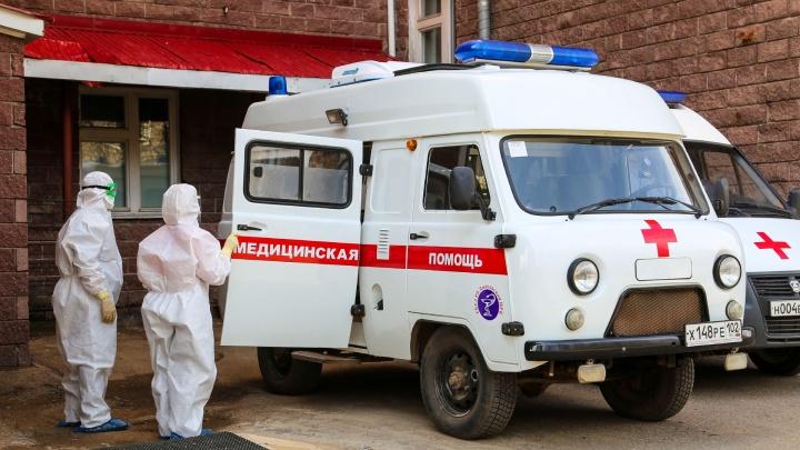 В Башкирии зафиксировали рекордное число заболевших COVID-19 за сутки
