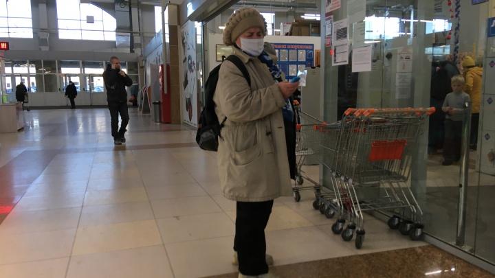 В Курганской области для пенсионеров продлили самоизоляцию