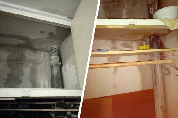 Квартиры в многоэтажке топило несколько раз. Жители долгое время ждут компенсации