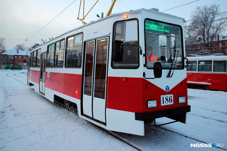 Трамваи, как и троллейбусы, тоже проходят КВР