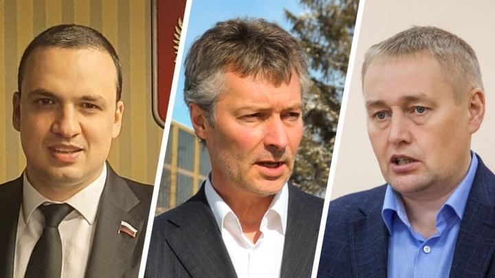 Кто против Ройзмана? С кем будет бороться бывший мэр на выборах в Госдуму