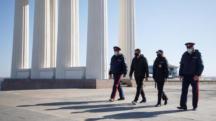 В Волгоградской области устроили облаву на нарушителей режима самоизоляции: составлено 50 протоколов