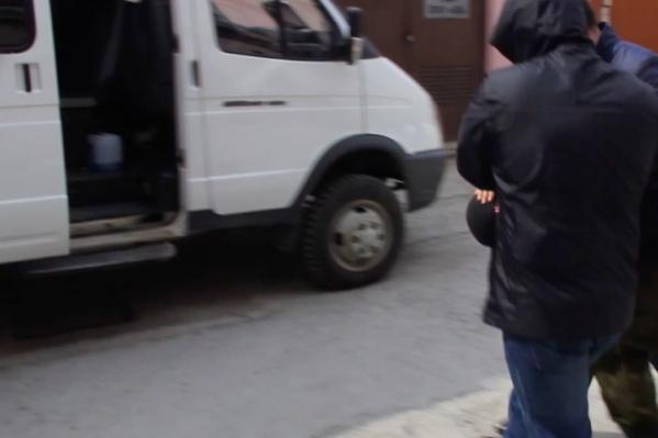 Молодого человека задержали сотрудники тюменского управления ФСБ