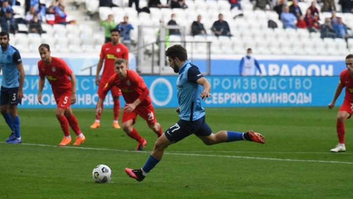 Пытались, но не смогли: волгоградский «Ротор» снова проиграл в домашнем матче