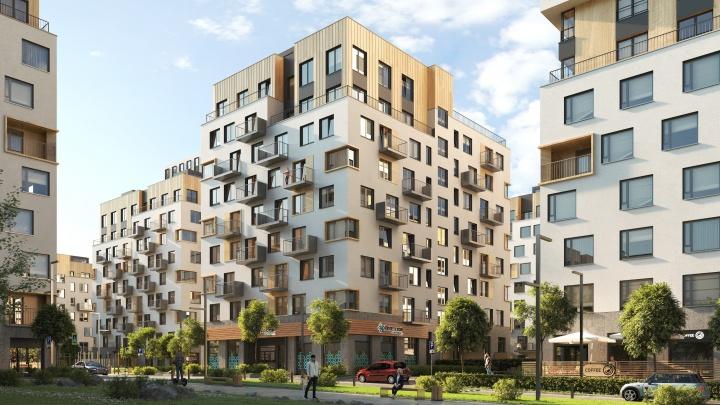 В «Северном квартале» построят новый дом с трехуровневыми квартирами и террасами на крышах