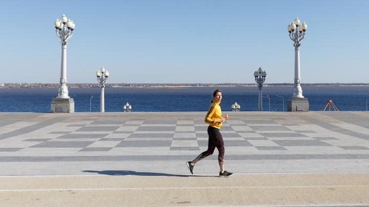 Волгоградцам разрешили гулять и заниматься спортом