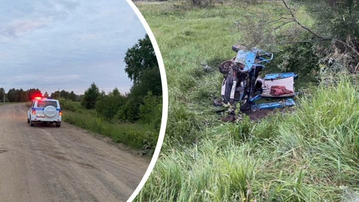 В колонию отправили водителя из тюменского села, виновного в гибели многодетной матери
