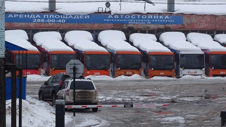 Автобазу на Ижевской, где сейчас находится «кладбище троллейбусов», передадут в региональную собственность
