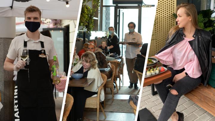 Возьмите меню и термометр: как в Екатеринбурге открылись веранды в ресторанах