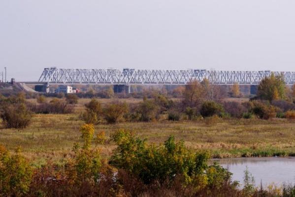 Тобол проверяют около города Ялуторовск