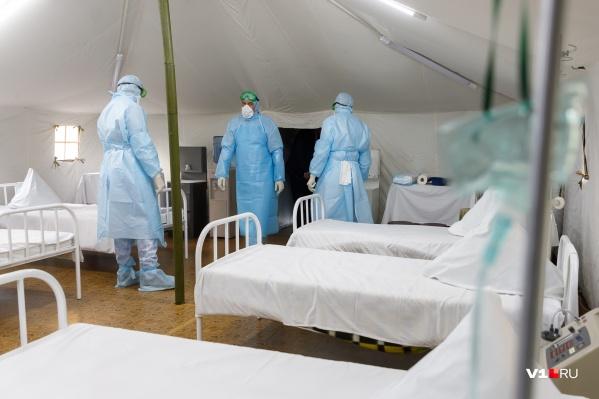 В ближайшие дни в Волгограде обещают выделить дополнительные места для пациентов