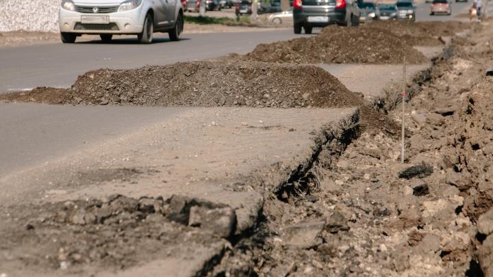 Проект расширения дороги на Пятой просеке вернули на доработку