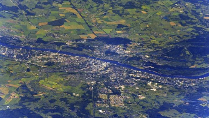 Космическое фото: Иван Вагнер сделал снимок Ярославля с МКС