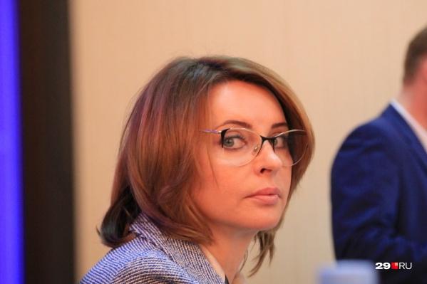 Валентина Сырова — председатель Архангельской городской думы 27-го созыва