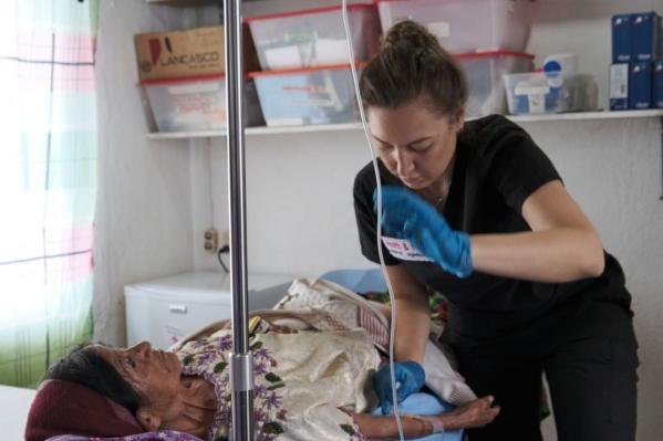 Виктория более трех лет работает волонтером в тропиках Центральной Америки