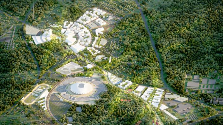 Бетон на фоне леса: смотрим, что построят около «Самара Арены»