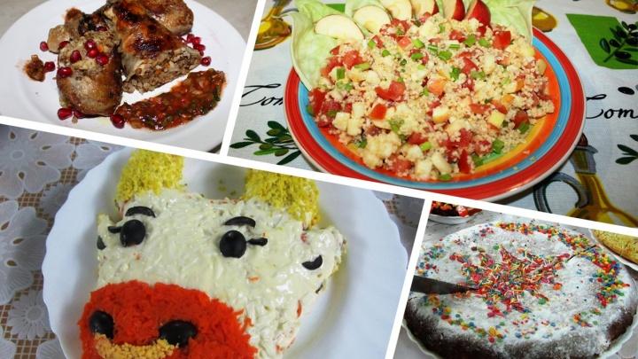 Окорочка, салаты и бычки: смотрим, что будет на новогодних столах у обитателей колоний Уфы