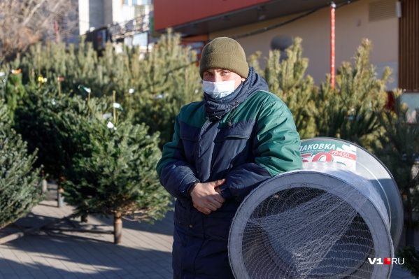 В первых числах декабря елочные базары открылись во всех районах города