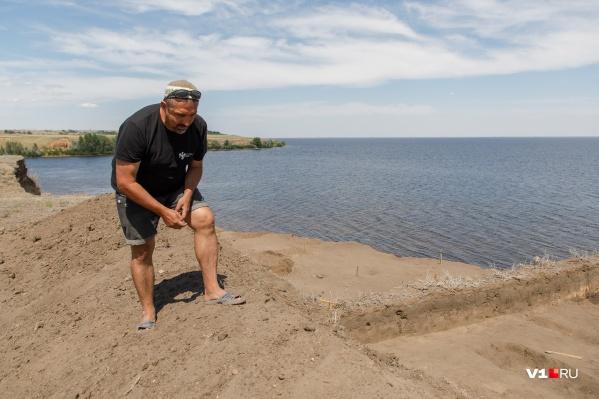 Археолог Евгений Гончаров больше 20 лет копает на Водянском Городище