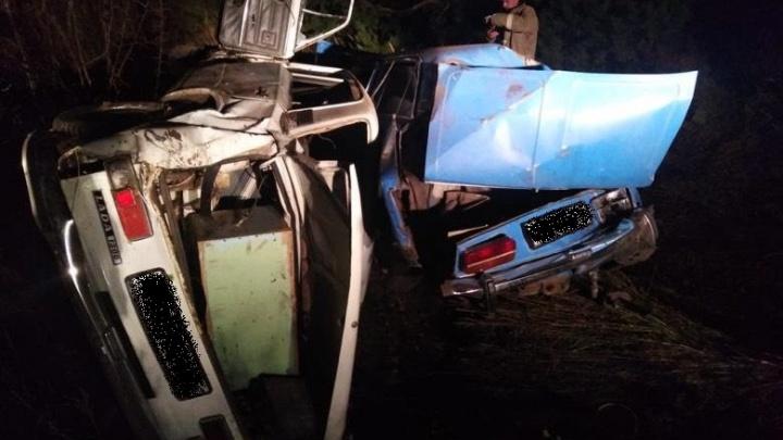 Оба пьяные и без прав: в Зауралье подростки-водители попали в ДТП на трассе