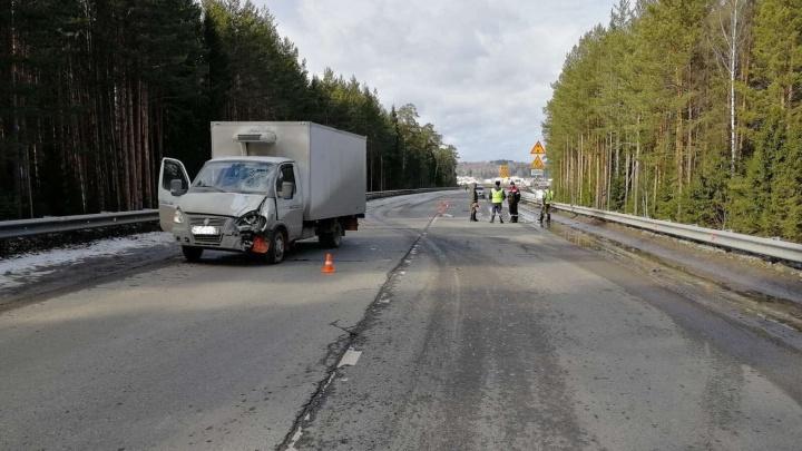 В Прикамье «Газель» насмерть сбила двух дорожных рабочих