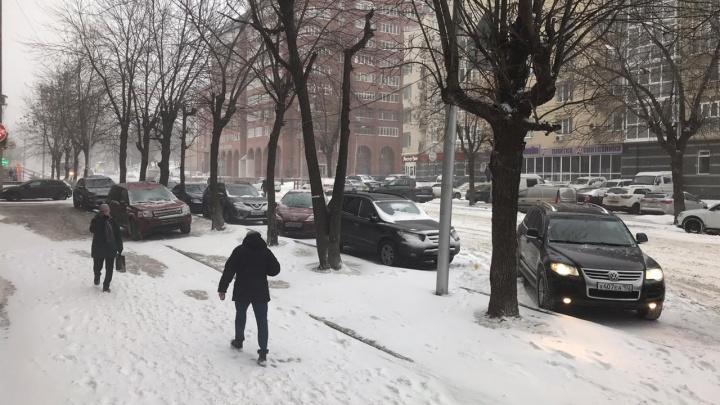 На Башкирию обрушится снегопад