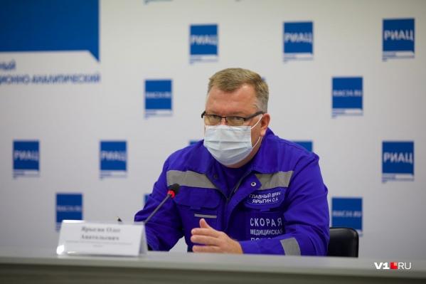 Олег Ярыгин рассказал о должностной инструкции фельдшера