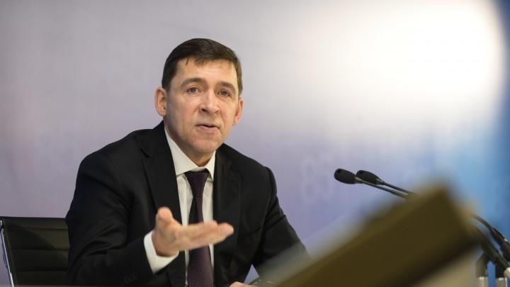 Губернатор Куйвашев объяснил, почему пациенты спят на койках в коридорах больниц