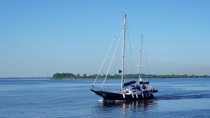 В Архангельск пришла яхта «Мария», участник Большой Арктической регаты