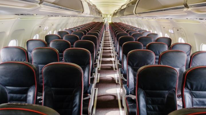 На борту самолета, приземлившегося в Перми, скончался мужчина