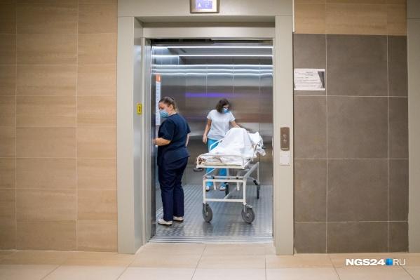 Красноярский край в общей статистике заболевших входит в десятку регионов с самой неблагоприятной обстановкой