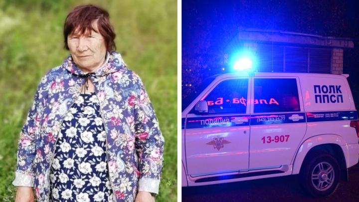 «Очень надеемся, что она жива»: на Урале ищут 79-летнюю бабушку, которая ушла из дома