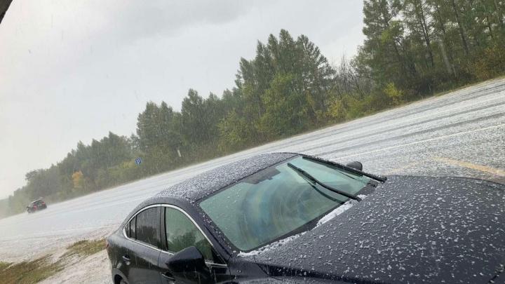 «Бабье лето, куда же ты?»: в Самарской области выпал первый снег