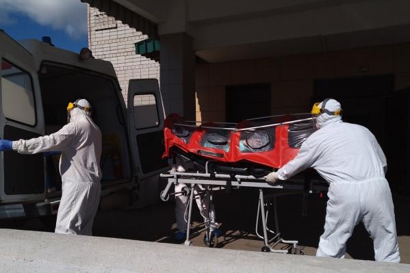 По данным за последние сутки, в Котласе заразились 58 человек<br>