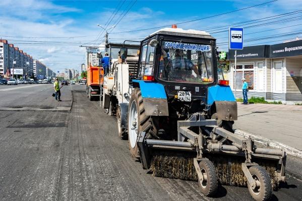 Благодаря слаженной работе подрядчика состояние городских дорог значительно улучшилось
