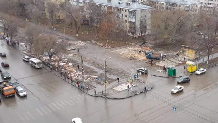 На месте снесенного рынка на Авроре построят фонтан