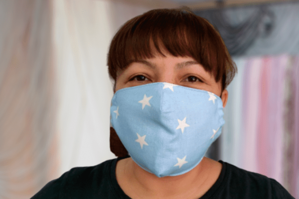 Стоимость такой маски — 80 рублей