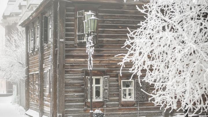 Красноярский край накрыло мощным антициклоном: в регион он принесет мороз до -35