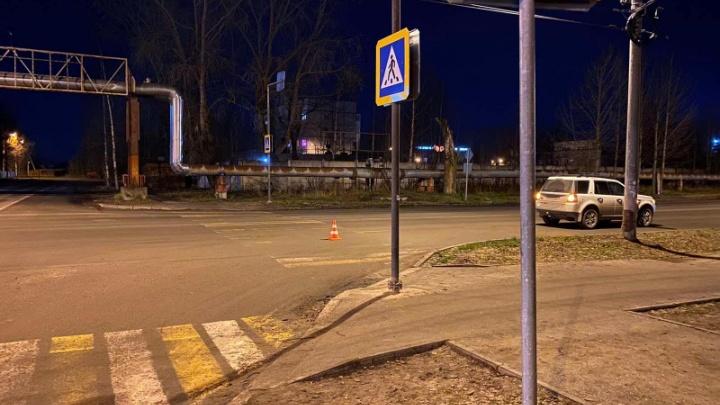 За сутки в Северодвинске сбили двух девушек-пешеходов
