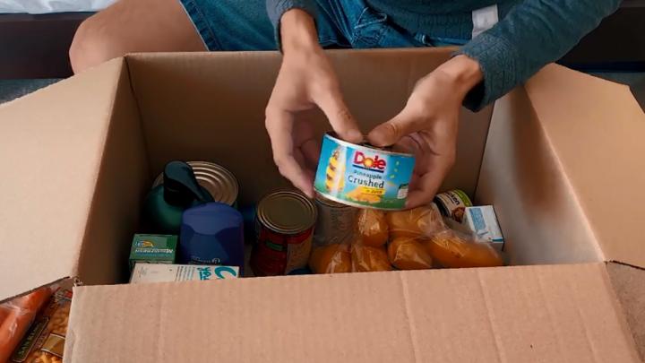«Хватит на 2 недели»: красноярец, застрявший в Новой Зеландии, показал продуктовый набор от государства