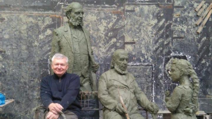 В Самаре скульптор начал работу над памятником «Аленький цветочек»