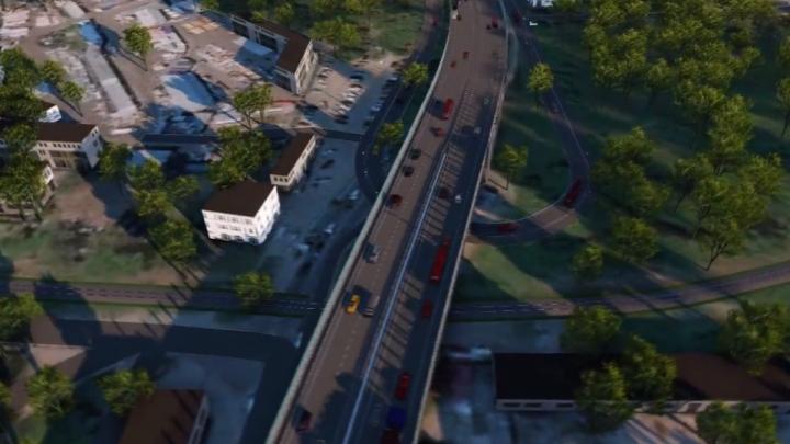 Строители приступили к бурению скважин для опор будущей развязки на Циолковского