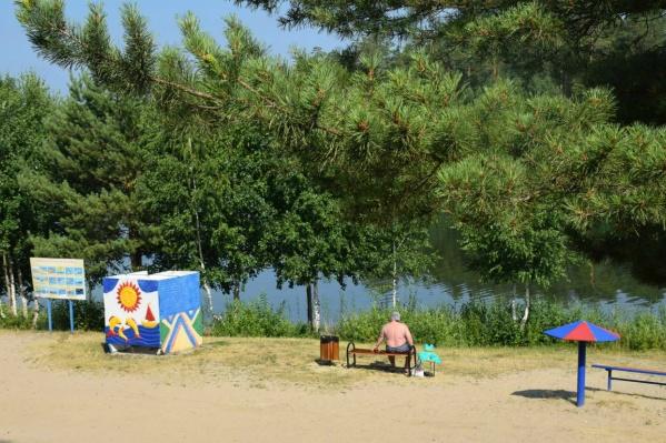 Отдыхать на «Голубых озерах» запрещено до особого распоряжения