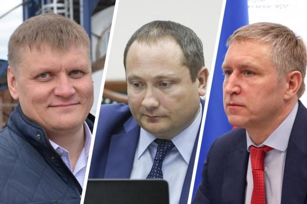 Игорь Пинаев,Андрей Смыченков и Юрий Бездудный
