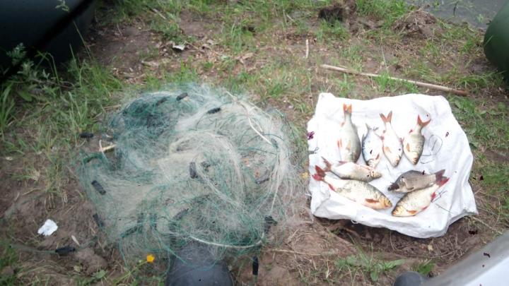 Наловил карасей: в Самарской области мужчину будут судить за незаконную рыбалку