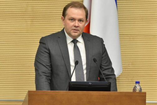 Павел Новоселов принес присягу