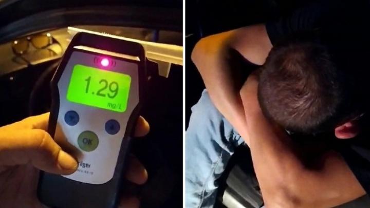 «Я — алкаш»: тюменец сел пьяным за руль и спровоцировал аварию на Ростовцева
