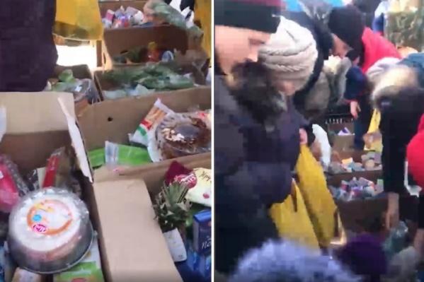 Жители села охотно покупали продукцию, которую, по версии депутата Петренко, недобросовестные фермеры перепродавали