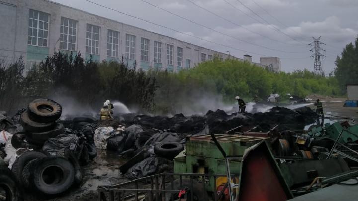 В Ярославле прокуратура проводит проверку пожара, дым от которого был виден во всём городе