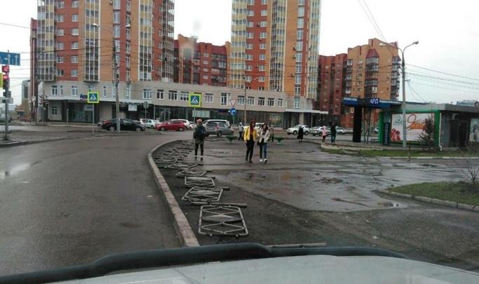 Мэрия Красноярска планирует потратить 5 миллионов на установку новых заборов
